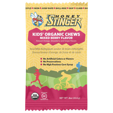STINGER KIDS CHEWS MIXED BERRY