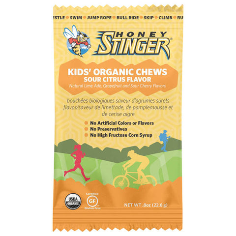 STINGER KIDS CHEWS SOUR CITRUS