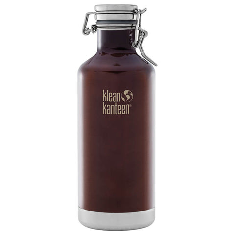 INSULATED GROWLER 32 OZ AMBER