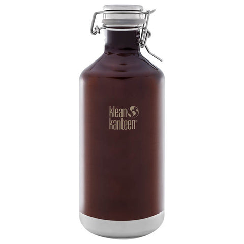 INSULATED GROWLER 64 OZ AMBER