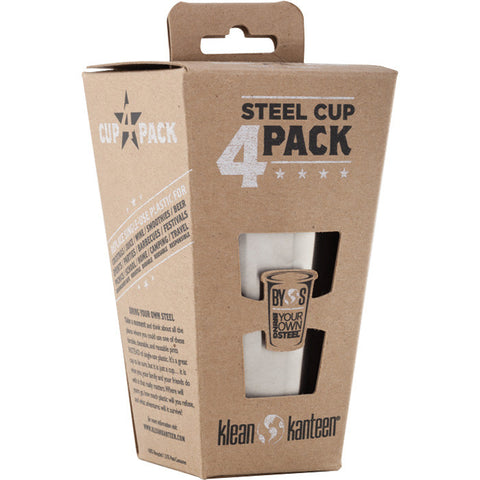 KK STEEL CUP 10 OZ- 4PK