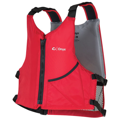 Onyx Universal Paddle Vest - Adult Oversized - Red [121900-100-005-17]