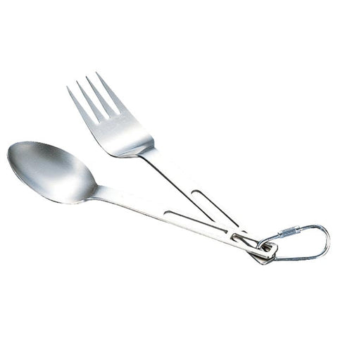TITANIUM FORK AND SPOON S