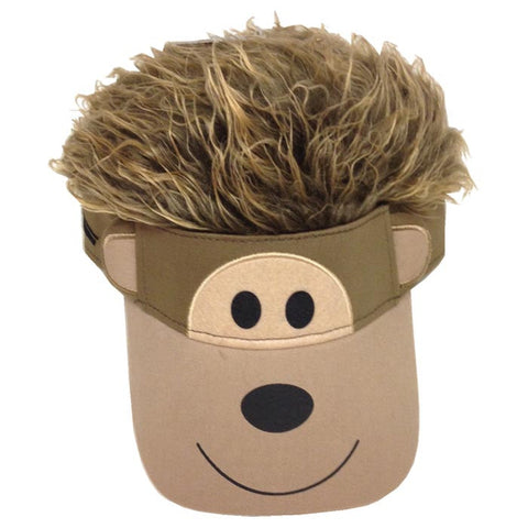 MONKEY FLAIR HAIR KIDS VISOR