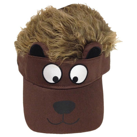 BEAR FLAIR HAIR KIDS VISOR