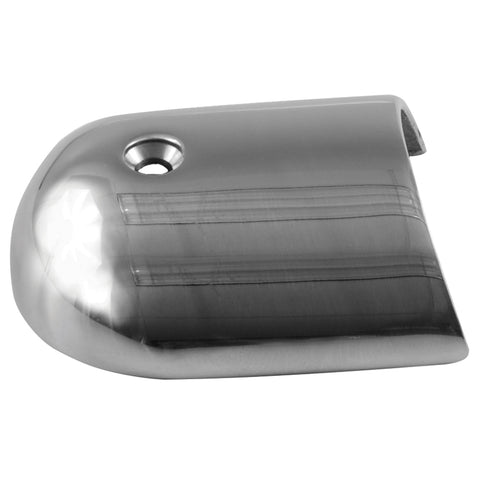 "TACO Rub Rail End Cap - 1-7/8"" - Stainless Steel [F16-0039]"