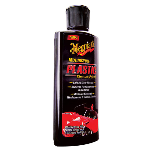 Meguiars Motorcycle Plastic Polish *Case of 6* [MC20506CASE]