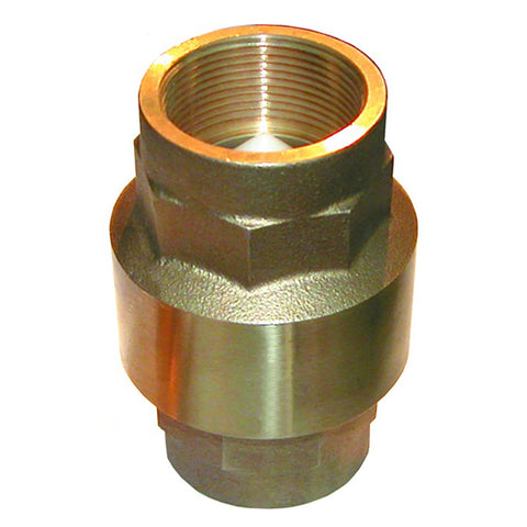 "GROCO 1-1/4"" Bronze In-Line Check Valve [CV-125]"