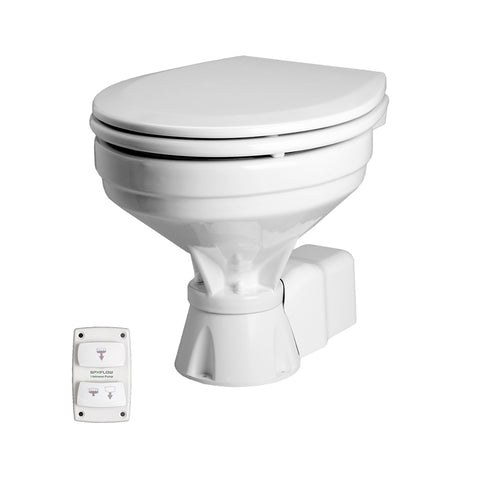Johnson Pump Aqua T Toilet - Electric - Comfort - 12V w/Solenoid [80-47232-03]