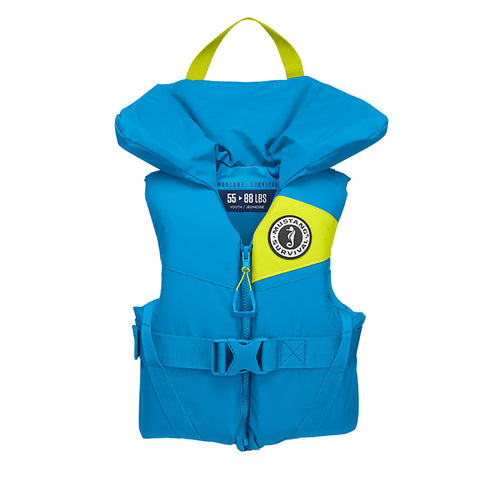 Mustang Lil Legends 100 Youth Foam PFD - 55-88lbs - Azure Blue [MV3560-268]