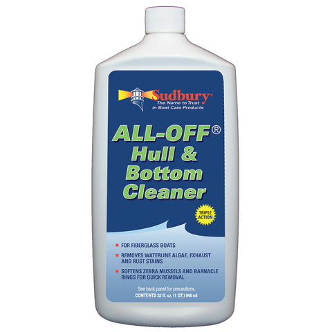 Sudbury All-Off Hull/Bottom Cleaner - 32oz *Case of 12* [2032CASE]