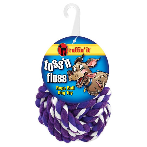 TOSS 'N FLOSS ROPE BALL