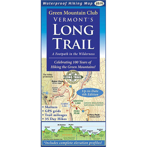 VERMONT'S LONG TRAIL: MAP
