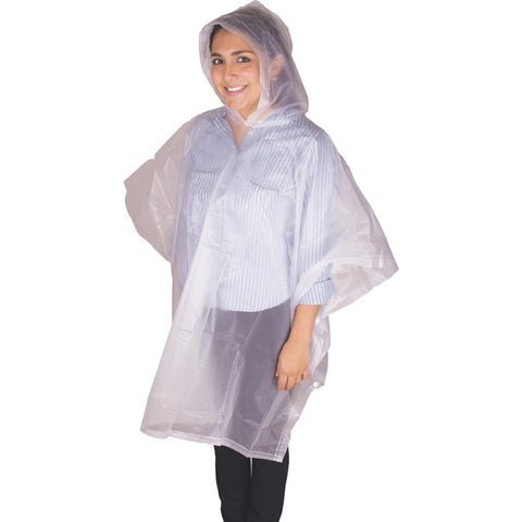 CHILD PEVA PONCHO - CLEAR