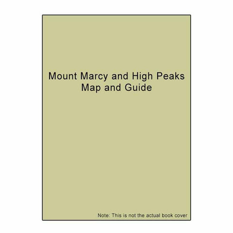MOUNT MARCY & HIGH PEAKS MAP