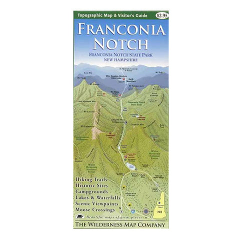 FRANCONIA NOTCH MAP & GUIDE