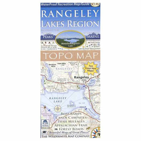 RANGELEY LAKES WTRPRF MAP/GD