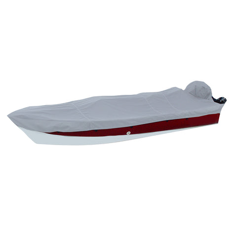 Carver Performance Poly-Guard Styled-to-Fit Boat Cover f/15.5 V-Hull Side Console Fishing Boats - Grey [72215P-10]