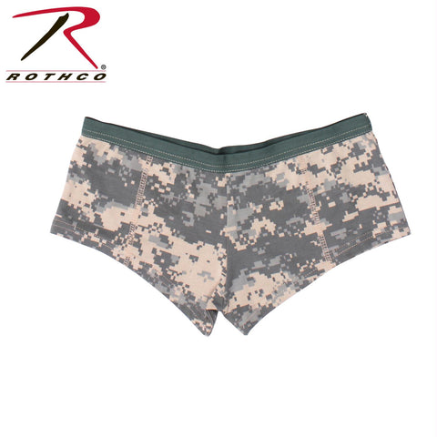 Rothco Womens Acu Digital Camo Booty Shorts