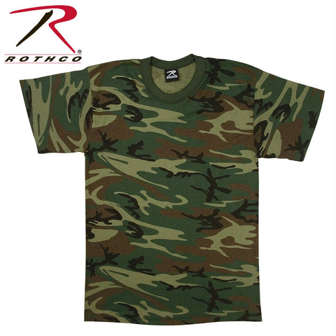 Rothco Woodland Camo U.S. Made T-Shirt
