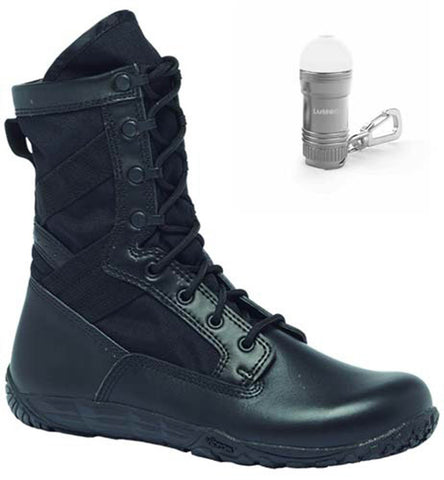 Belleville TR102 Tactical Research Minimalist Training Boot with BONUS Nebo Light Bundle (2 items)