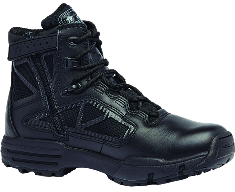 Belleville Tactical Research TR Chrome TR916Z 6 Inch Hot Weather Side Zip Boot