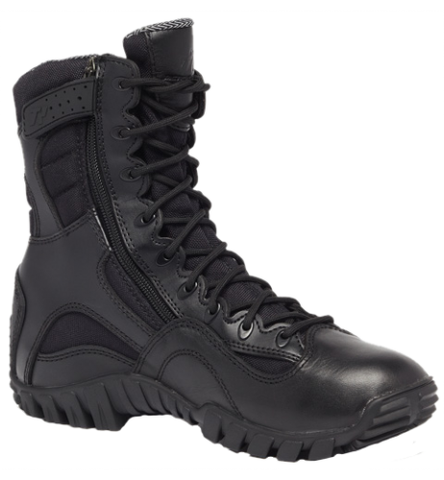 Belleville TR960ZWP Khyber Lightweight Waterproof Side-Zip Tactical Boot and BONUS Nebo Light
