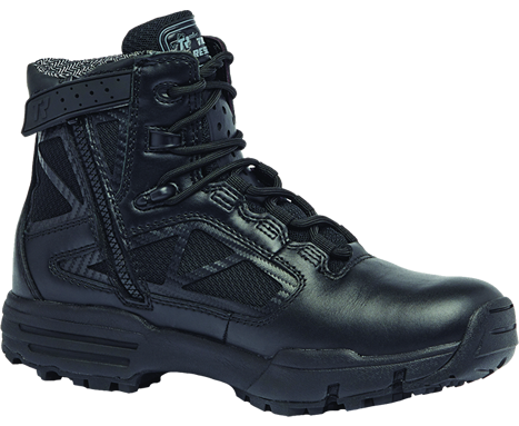 Belleville Tactical Research TR Chrome TR996Z WP 6 Inch Waterproof Side Zip Boot