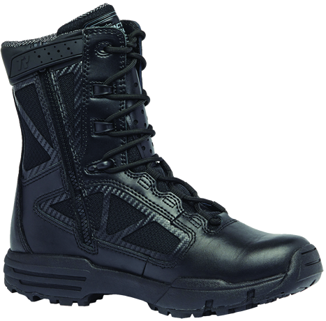 "Belleville Tactical Research TR Chrome TR998Z WP CT 8"" Waterproof Side-Zip Composite Toe Boot"