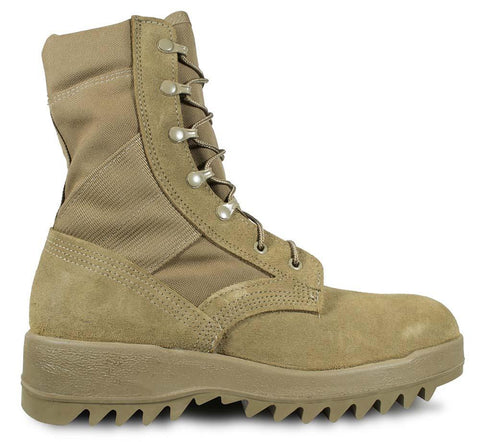 McRae Hot Weather Coyote Ripple Sole Combat Boot Style 8188