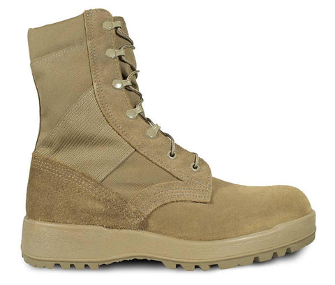McRae Mil-Spec Hot Weather Coyote Boot w/ Vibram Sierra Outsole Style 8189