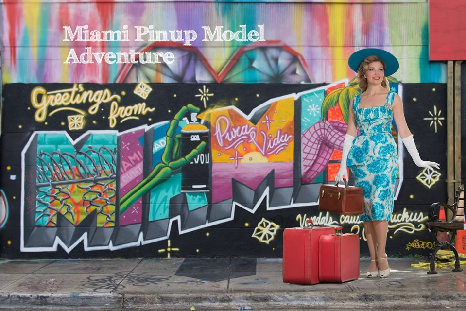 Miami Pin Up Model Adventure 💋