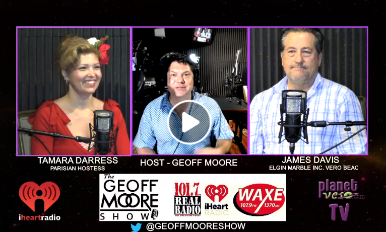 The Geoff Moore Moore Show Talks with The Parisian Hostess