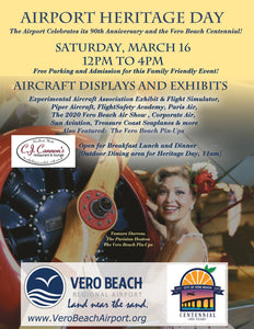 The Parisian Hostess will be at Heritage Days Vero Beach Airport Birthday Bash!