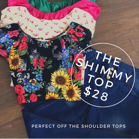 Shimmy Top Pink