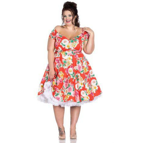 Hell Bunny Marguerita Mid Dress
