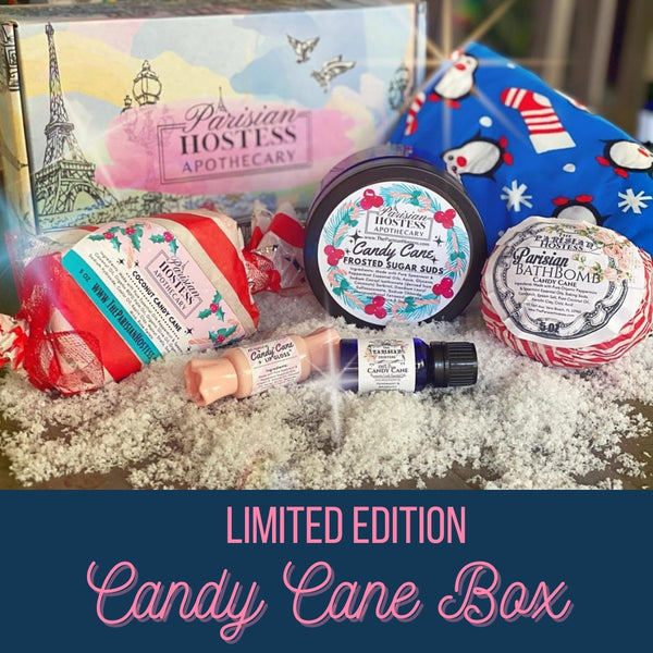 Limited Edition Candy Cane Box
