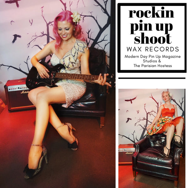 Rockin Pin Up Shoot with the Modern Day Pin Up Magazine