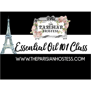 Private Essential Oil 101 Class for Crystal & Fabulous Friends! Sept 30th, 5:30-7 pm