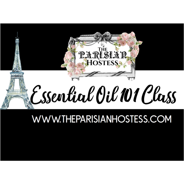 Private Essential Oil 101 Class for Laura & Fabulous Friends! Nov 24th