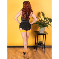 Seamed Stockings Mustard