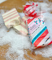 Limited Edition Coconut Candy Cane Soap