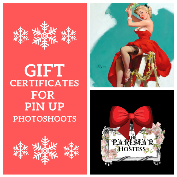 Gift Certificate Pin Up Photo Shoot