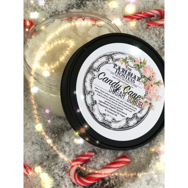 LIMITED EDITION Candy Cane Sugar Scrub