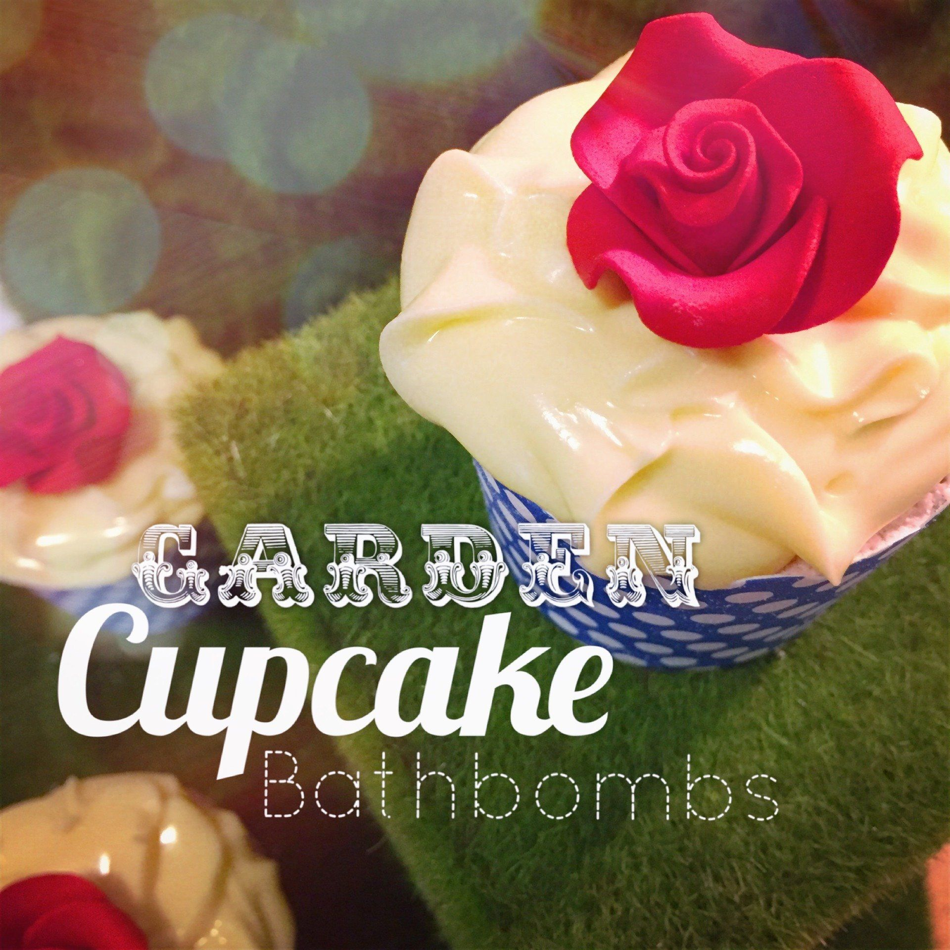 Garden Cupcake Bathbombs