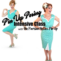 Pin Up Posing Intensive Class June 25th  5:30-7:30pm