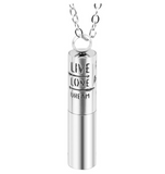 Stainless Steel Diffuser Pendant Necklace