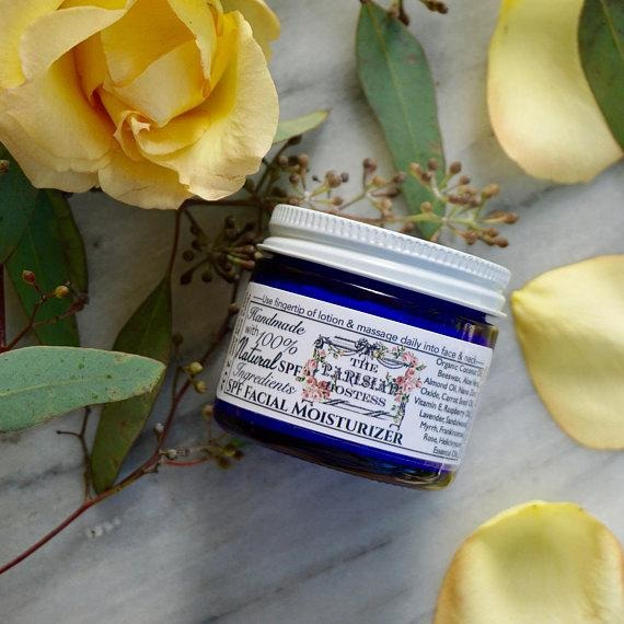 Natural SPF Facial Moisturizer made with Organic Ingredients