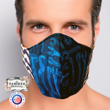 The Parisian Hostess Reversible Face Mask with 10 ml Essential Oil Kit and filter MENS- Handy Jack
