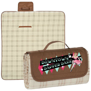 Downtown Dapper Daze Limited edition Picnic Blanket